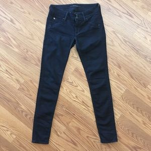 Hudson Collin Flap Skinny Jeans Shay Womens 26